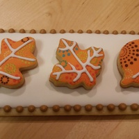 Fall Cookie Favor Fall cookie favor based on a pack of pretty tissues I found!