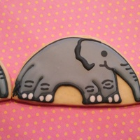 Elephant Cookies My original design. I think they're so cute!