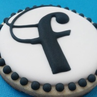 "F Cookies ""F"" cookies for Form Salon grand opening party"