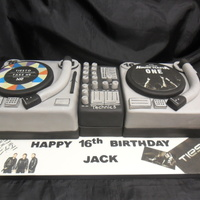 Double Deck Record Player Birthday Cale