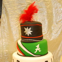 Marching Band Cake Marching Band Cake with Hat