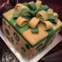 """out Of The Box"" Cake"