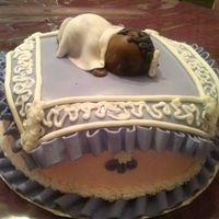 """sleeping Baby"" Baby Shower Cake"