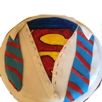 A Superman Cake I Made For My Son A Superman cake I made for my son