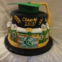Angelique's Graduation Cake