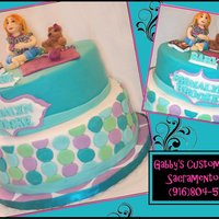 Emmalyn Brooke Baby Shower Cake