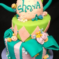 Mad Hatter Tea Party Cake Mad Hatter Tea Party Cake