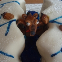 Ice Age Cake With Scrat