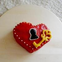 Key Of My Heart Cake   Key of my heart - cake.