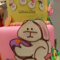 Rabbits Rabbits And More Rabbits cake-buttercream-fondant Rabbits fondant-gumpaste