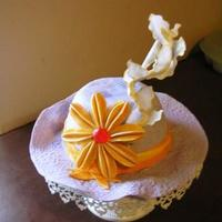 Trendy Miss Hat Cake