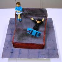 Skateboarder Birthday Cake