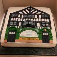 Old Balck Bull Preston This cake was made for the managers of the pub on their retirement. I have previously won Preston guild ( a 20 year celebration) with a...