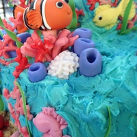 Under The Sea-Baby Shower clown fish