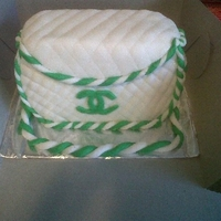 Chanel Purse Made this cake for the first time, on my friends birthday....is was a big hit!!