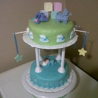Babyshower Cake I Made For My Sister....she Loved It