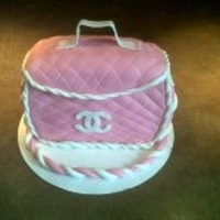 Chanel In Pink My very first Chanel Purse....