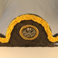 Pirate Hat Cake By Cakeshapesdesigns I'm not a professional cake decorator. Here's my Pirate Hat Cake. I created the cut up cake pattern for this cake. It only...