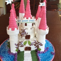 Princess Castle Cake   Princess Castle Cake !!