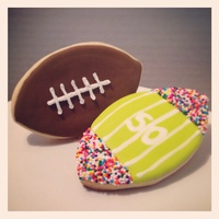 Are You Ready For Some Football (Iced Sugar Cookies)