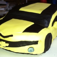Camaro This was my first go at a real 3D cake. It did not come out that great but it was a very good learning experience.