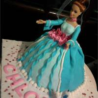 Belle C.h.l.o.e   My daughter's first birthday cake