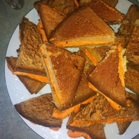 Grilled Cheese Cakes (Not Grilled Cheesecakes... I have made these TWICE wiithin a matter of weeks. The First time was for my Life Group (about 30 people), the next was for an All Church...