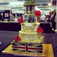 My Ww1 Centenary Competition Piece Which Won Silver At Cake International 2014