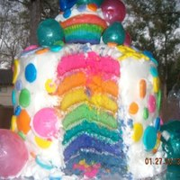Rainbows And Bubbles *The bubbles are made using the Knox gelatin method.