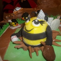 "Girls Softball Team ""bumblebees"""