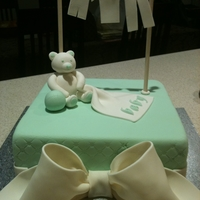 Baby Shower Teddy Bear This is a Baby Shower cake that I made for my workmate. It's my first time to do a figure on this one. I enjoyed making this bear and...