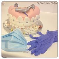 Dentalorthodontist Cake *dental/orthodontist cake