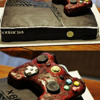 Xbox Cake Made this Xbox 360 Cake for a surprise birthday party! Had a blast... and everyone LOVED the flavor... which was: Reeses!