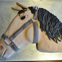 Horse Cake This one is by far my favorite one that I've done!!!! :)