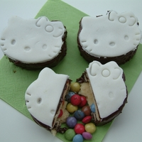 Hello Kitty Pinata Cookies