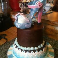 High Heel Shoe Cake   *