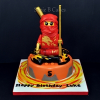 Ninjago Cake Made for my son who loves anything to do with ninjago.