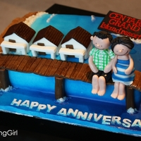 Anniversary Resort Cake! Video of how I made it: