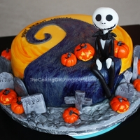 The Nightmare Before Christmas Cake!   The Nightmare Before Christmas themed CAKE! A Tim Burton themed Cake! A Jack Skellington Cake!