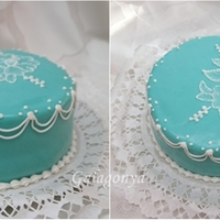 Blue And Royal Icing