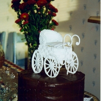 Dawn's Baby Shower Cake