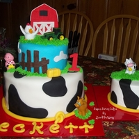 Farm 1St Birthday