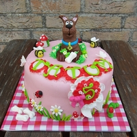 Scooby Doo! A cake for mij daughter!