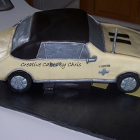 1967 Chevy Camero For a 50 year old Birthday. Same car he had in high school. His wife was so excited to get this cake for him. They loved it! German...