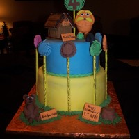 Lorax Birthday Cake Lorax Birthday Cake.
