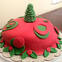 Christmas Day Cake Gluten free and Dairy free cake
