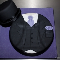 Groom's Cake Hat And Jacket