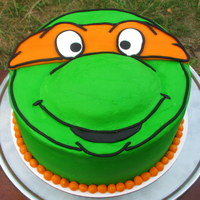 Teenage Mutant Ninja Turtles Birthday Cake!