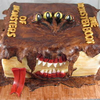 Book Of Monsters Cake!