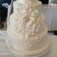 Petal Wedding Cake Introducing the White Petal Wedding design for 2012